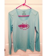 Women's Patagonia blue long sleeve pull over top size XS - $20.10