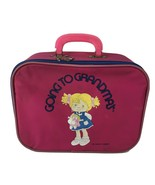 Going to Grandma's Suitcase Vintage 1980s Mercury Luggage Pink As-is - $9.89