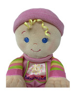 Fisher Price Baby's 1st First Doll Pink Plush Rattle Soft Body Stuffed T... - $9.50