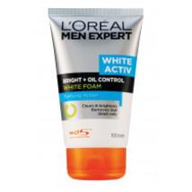 L'oreal Men Expert White Active Oil Control Foam 100 Ml. - $9.89