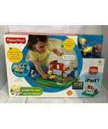 2013 Fisher Price Little People Apptivity Barnyard--Interactive Learning... - $37.39