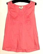 Women's Pink Detail Tank Size M Talbots - $9.00