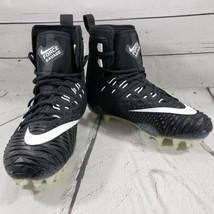 Nike Shoes Size 9 Force Savage Elite TD Football Cleats 857063-011 Black White  - $69.29