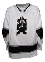 Mike Donnelly #19 New Haven Nighthawks Retro Hockey Jersey New White  Any Size image 4