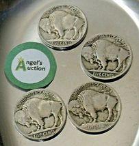Buffalo Nickel 1913, 1915, 1916, and 1917  AA20BN-CN6076 image 3