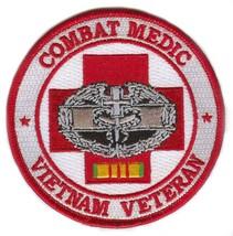 Combat Medic Vietnam Veteran Patch - $9.89