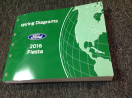2016 Ford FIESTA  Wiring Electrical Diagram Manual OEM NEW EWD 2016 - $79.19