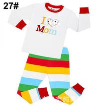 Kids Toddlers Children Cartoon Pajamas Sleepwear Nightwear Cloth Set Pj'... - $24.50