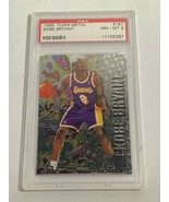 1996 PSA NEAR MINT 8 FLEER METAL KOBE BRYANT #181 (MR) ROOKIE CARD RC - $197.99