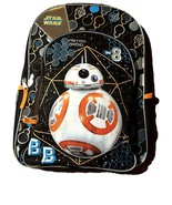 Star Wars BB-8 Backpack with Front Zipper Compartment and Side Pockets - $18.80