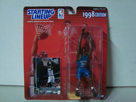 1998 Starting Lineup NBA Minnesota Timberwolves Kevin Garnett Action Fig... - £5.82 GBP