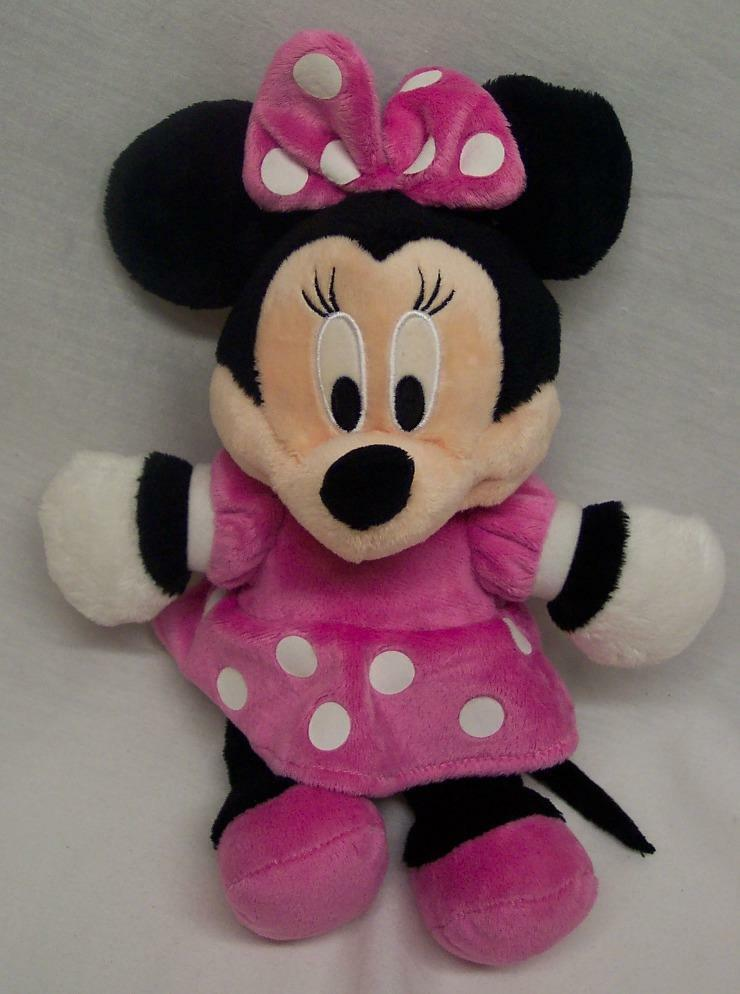 Walt Disney Baby Minnie Mouse In Pink Dress 11 Quot Plush