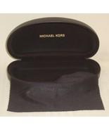 "Michael Kors MK Brown Sun Glasses Hard Case & Cleaning Cloth 6.25"" x 1.5"" - $8.81"