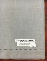 Zweigart's Annabelle Table Runner Ash Grey 20 x 67 Cross Stitch or Embro... - $44.60