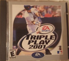 EA Sports Triple Play 2001 PC Video Game - $16.99