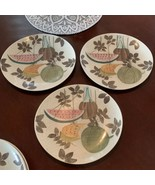 Red Wing Pottery Tampico Pattern DINNER PLATES, SET OF 3 - $39.55