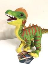 "New Large Jurassic World 16"" Green Raptor Hybrid Plush Dinosaur Toy Nwt. T-REX - $19.39"