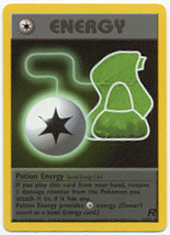 Potion Energy 82/82 Uncommon Team Rocket Unlimited Pokemon Card