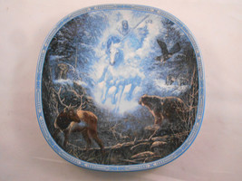 The Bradford Exchange Snow Rider Plate by Lina Medaris Visions of the Sa... - £11.50 GBP