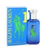 Big Pony Blue Cologne By Ralph Lauren 1.7 oz Eau De Toilette Spray For Men - $36.89