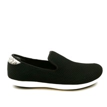 Ryka Womens Camden Mesh Slip-On Shoes Sneakers Accent Snake Black Size 8.5W - $34.64