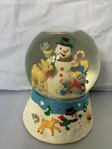 1996 San Francisco Music Box Company Frosty The Snowman Snow Globe Rare ... - $140.25