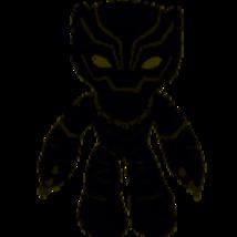 Marvel Flexers Poseable Plush Black Panther New - $14.99