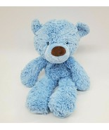 "15"" Baby Gund LIL FUZZY BLUE 4030416 Plush Baby Lovey Stuffed Toy B350 - $29.99"