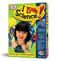 NEW! I LOVE SCIENCE - A DK DORLING KINDERSLEY CLASSROOM SUPERSTAR TITLE ... - $24.25