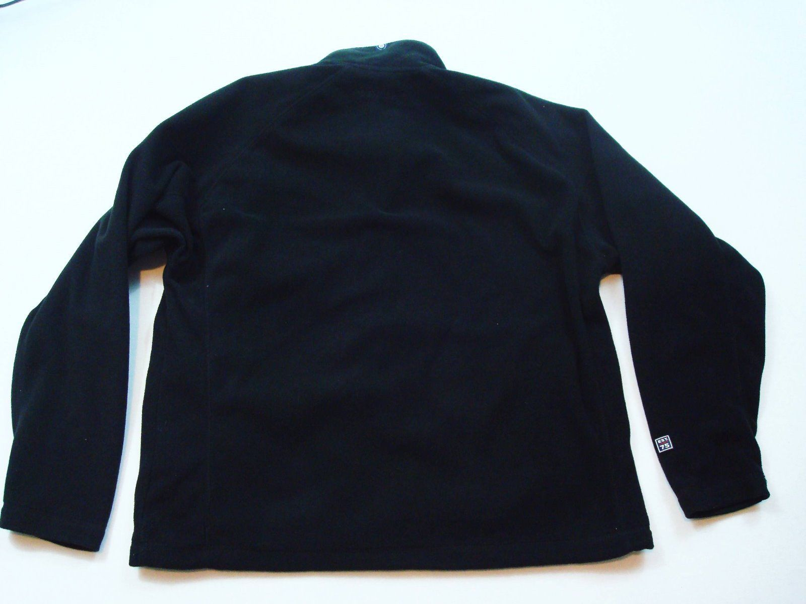Mcafee Virus Reißverschluss Fleece Jacket Landmark Schwarz Größe L Herren T71 image 6