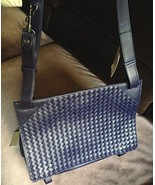 NEW AUTH Bottega Veneta Nosiz Intrecciato Weave Shoulder Crossbody Lapto... - $1,650.00