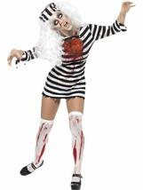 Zombie Convict Dress, Halloween Zombie Alley Fancy Dress, US Size 4-6 #CA - $48.19