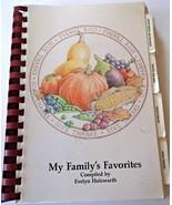 National City MI Holzwarth Family Community Fundraiser Cookbook VG Condi... - $6.92