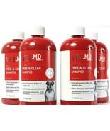 4 Countt Vet MD Free Clear Unscented Sensitive Skin Dog Shampoo 17 Fl Oz - $62.99