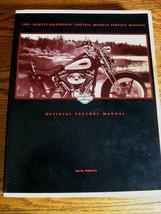 2001 Harley-Davidson Service Manual Catalog Softail FXS FLS w/ Electric Diagrams - $91.72
