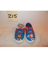 Boys Paw Patrol Slip On Canvas Shoes Size 6 or 9 New - $12.99