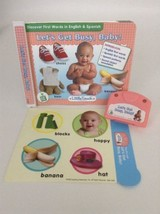 Leap Frog LITTLE TOUCH Let's Get Busy, Baby!  Book Cartridge & Insert 6 mo+ - $7.08