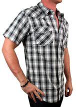 Levi's Men's Cotton Short Sleeve Button Up Casual Dress Shirt 3LYSW061CC-GRY image 4