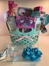 Disney Frozen Theme Pre-Made & Pre-Filled Gift Basket Full Of Goodies  - $32.55