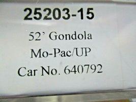 Trainworx Stock # 25203-13 to -18 Mo-Pac/UP Shield 52' Gondola N-Scale image 6