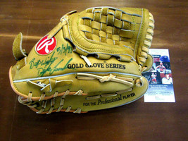 DWIGHT GOODEN DOC BEST WISHES 5-3-91 METS SIGNED AUTO RAWLINGS GLOVE MIT... - $593.99