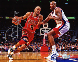 Ron Harper Signed Chicago Bulls 8x10 Photo - $45.00