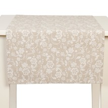 Floral Flower Honeycombe Handmade In Netherlands Cotton Table Runner 50 X 140CM - $22.02