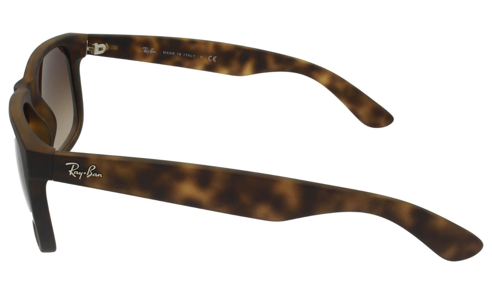 New RAY-BAN Justin Rare Sunglass RB4165 710/13 Havana w/Brown Gradient 51 image 3