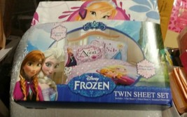 Disneys Frozen Twin/Single Size Sheet Set - $39.60
