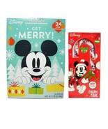 Mickey's 2pc Gift Set ~ Advent Holiday Countdown Calendar & Jumbo Candy ... - $17.63