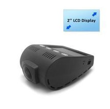 DVR Video Recording Dash Cam, Micro SD Memory Slot, 2.0 Monitor Display - $92.30