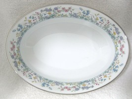 """Spring Garden by Noritake 9 1/2""""  Oval Vegetable Bowl  In Great Shape Floral - $29.69"""