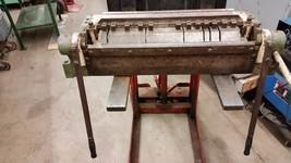 """DI ACRO 24"""" 16 GAUGE BOX AND PAN FINGER BRAKE DIACRO - $2,326.50"""