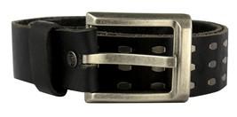 NEW LEVI'S MEN'S STYLISH CLASSIC GENUINE LEATHER BELT BLACK 11LV1204 SIZE S image 1